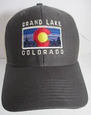 Grand Lake Colorado Hat Cap Trucker USA Embroidery  Unisex New