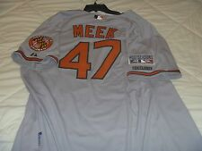 Evan Meek Baltimore Orioles Game Issued 2014 Playoff Jersey