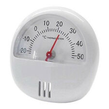 MINI MAGNETIC THERMOMETER WITH STAND FOR ROOM FRIDGE TEMPERATURE GAUGE DIAL SHED