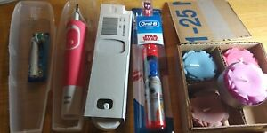 Braun Oral B Electric toothbrush Device kit + Star Wars battery powered device