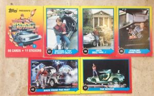 BACK TO THE FUTURE TOPPS Cards Bundle. FREE UK POST.