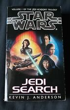 Jedi Search / Star Wars / Kevin J. Anderson / Paperback / 1994