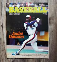 MLB 1981 Montreal Expos Game Program Vol 13 No 5 HOFer Andre Dawson Cover