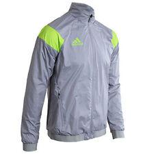 Abrigos y chaquetas de hombre grises adidas