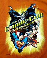 2010 SDCC San Diego Comic Con T-Shirt DC Comics Theme Size Adult XL