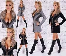 Taillenlange Damen-Pullover mit mittlerer Strickart aus Wolle
