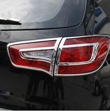 ABS Chrome Tail Light Rear Lamp Cover Trim for 2010 2011 2012 Kia Sportage R