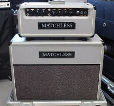 Matchless HC-85 Guitar Head and ES-D 2x12 Cab with Janal Road Case