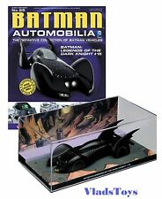 Eaglemoss 1:43 Batman Batmobile Legends of Dark Knight Comics #15 EM-BM025 w/Mag