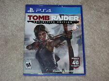 TOMB RAIDER DEFINITIVE EDITION...PS4...***SEALED***BRAND NEW***!!!!!