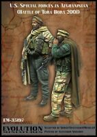 1/35 Resin Modern US Special Force 2 Soldiers Unpainted Unbuild 4395
