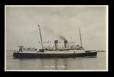 f1558 - Southern Railways Ferry - Isle of Sark - postcard