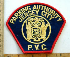 JERSEY CITY NEW JERSEY  POLICE  FABRIC PATCH