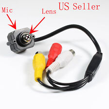 Mini SPY Screw CCTV Security Surveillance Color Camera