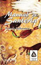 MANUAL DE SANTERIA Cuba Orisha Cuban Religion