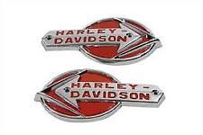 new 1959 -1960 Harley Davidson panhead nameplate gas tank emblems