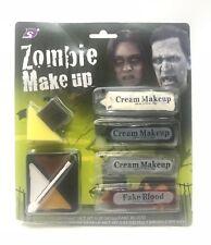 Halloween Make Up Kit Zombie Pirate Face Paint Halloween Fancy Dress Face Paint