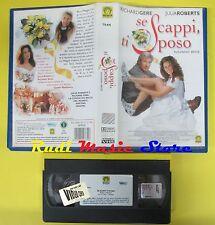film VHS SE SCAPPI TI SPOSO 1999 richard gere julia roberts MEDUSA (F56) *no dvd