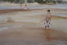"""William Russell Flint, Antoinette & Bathers - Fine Art Open Print - 16""""x20"""""""