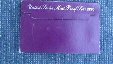 1990 United States US Mint 5pc Clad Proof Set