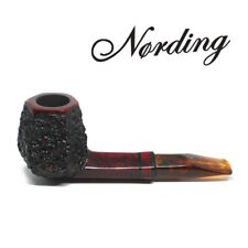 NEW Erik Nording - ETNA Pannelled - 9mm Filter Pipe - Rustic and Smooth