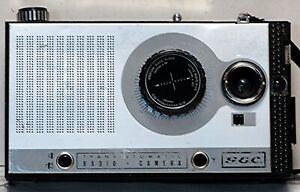 GEC Transistomatic Radio – Camera G822, 60er-Jahre, für Bastler.