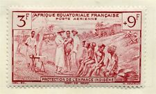 FRENCH COLONIES EQ.AFRIQUE 1942 Child Welfare issue Mint hinged 3Fr.