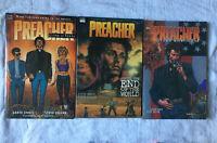 DC Comics Vertigo Preacher 3 Volumes  Garth Ennis & Steve Dillon #A2