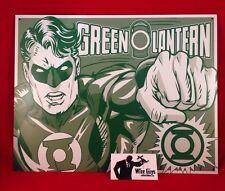 DC Universe GREEN LANTERN  - Retro Metal Tin Sign Wall Art