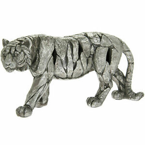 LEONARDO SILVER NATURAL WORLD TIGER DECORATION ORNAMENT