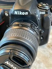 Nikon D300 12.3 MP Digital SLR Camera - Black Includes Nikkor DX 18-55 3.5-5.6