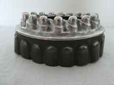 More details for victorian decorative copper top and tin jelly mould mold collectable kitchenalia