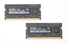 Elpida 8GB Kit ( 2 x 4GB ) 1Rx8 PC3L-12800S 1600MHz DDR3 Mackbook / iMac Memory