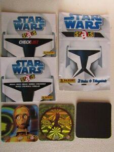 Panini 2008 ~ Star Wars Staks Clone Wars Magnet Cards  Card Variants (e25)
