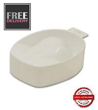 Manicure Bowl - White - Soak off Gel Polish CND Gelish ~ FREE P&P ~ UK SELLER
