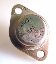 Rca 2N6254 Silicona Bipolar Transistor Npn 90V 15A 150W TO3 OMB3-023a