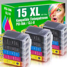 15 Druckerpatronen für Canon MP 610 mit Chip