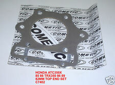 HONDA ATC350X TRX350X 85 89 COMETIC C7402 TOP END GASKET SET KIT