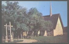 Postcard WIMBERLEY Texas/TX  Chapel in the Hills view 1950's