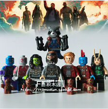 Guardians of the Galaxy 8pcs Marvel .DC Super heroes move  Building Blocks Toys