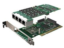 Sangoma A108DE Octal Span T1 PCIe Card with Echo Cancellation