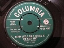 THE AVONS . SEVEN LITTLE GIRLS SITTING IN THE BACK SEAT . 1959 ORIGINAL  ISSUE