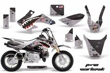 AMR Racing Honda Graphic Kit Bike Decal CRF 50 Decal MX Parts 2004-2013 WARHWK K
