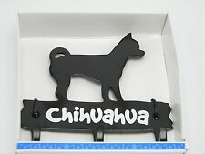 Chihuahua Dog Hook Pet Metal Wall Hanger Leash Key Hat Cap Coat Home Decor