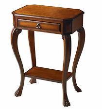 GLEN COVE SIDE TABLE - END TABLE - OLIVE ASH BURL FINISH - FREE SHIPPING*