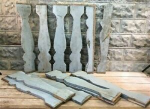 Queen Anne Balusters, Wood Architectural Salvage Spindles Porch House Trim,