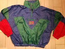 Dope 80's vintage colorblock pullover Pro Spirit 1/2 Zip Pullover windbreaker