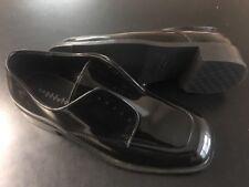 Perry Ellis Evening Tuxedo Black Dress Shoes Mens 7.5 EUC Free S&H