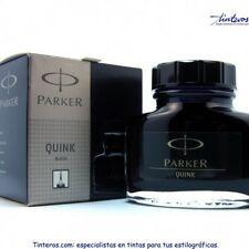 Parker Quink Fountain Pen Ink Bottle, 30ml, Black