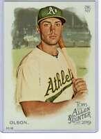 Matt Olson 2019 Allen and Ginter 5x7 #222 /49 Athletics